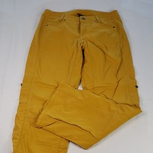 KUHL🔮GOLD Cargo Roll Up Cuff Outdoor Hiking Pants